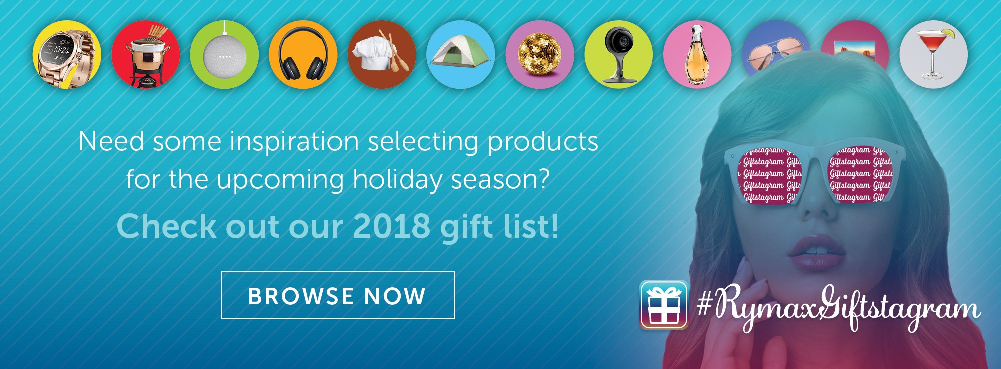 Rymax Giftstagram: 2018 Holiday Gift Guide