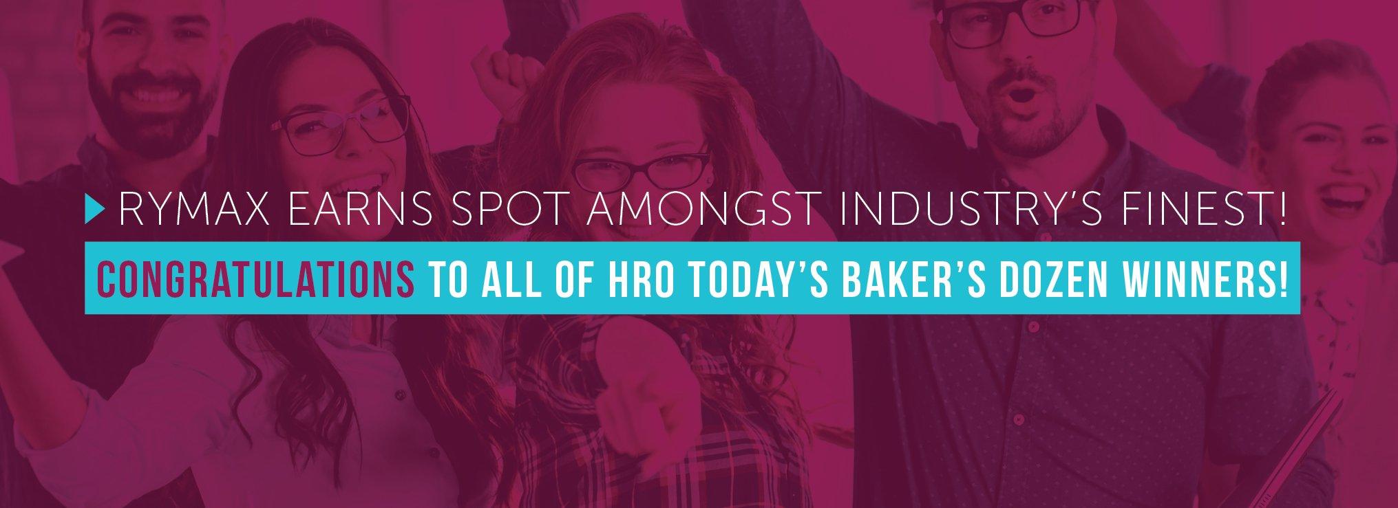 HRO Bakers Dozen Award
