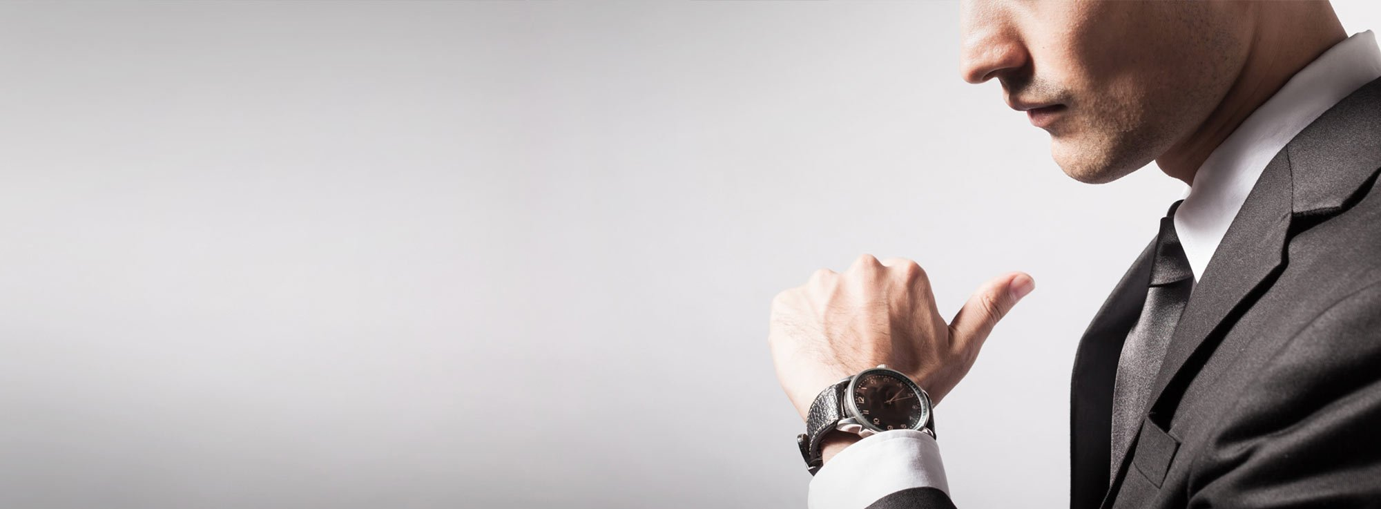 Man with Luxury Watch