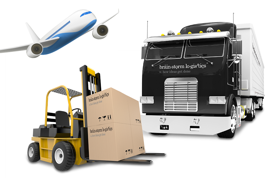 Brainstorm Logistics Fulfillment Vehicles
