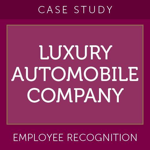 Case Study: Luxury Automobile Company