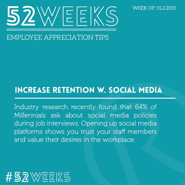 52 Weeks of Employee Appreciation