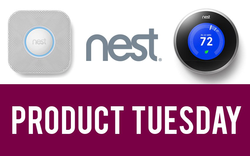 Product Tuesday: Nest Protect and Thermostat