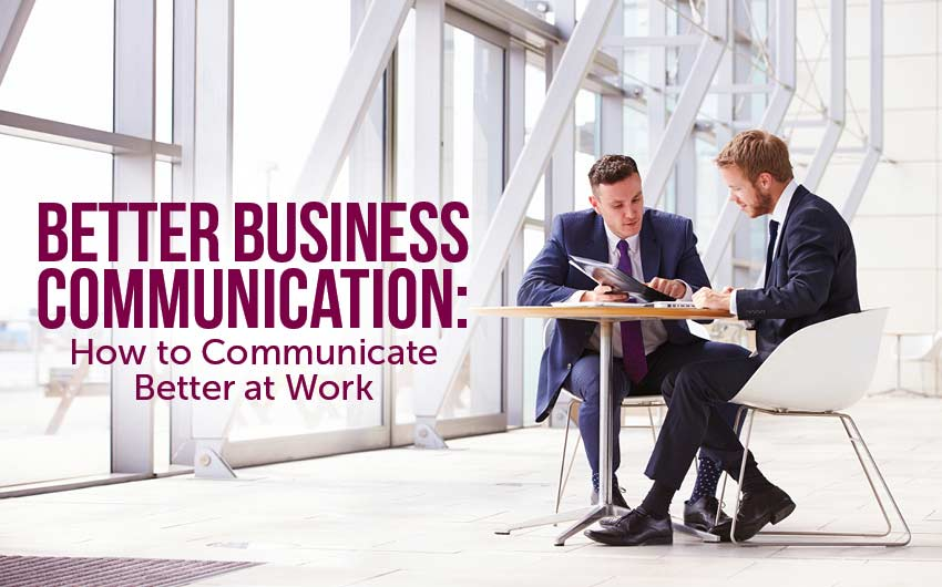 communication work business at