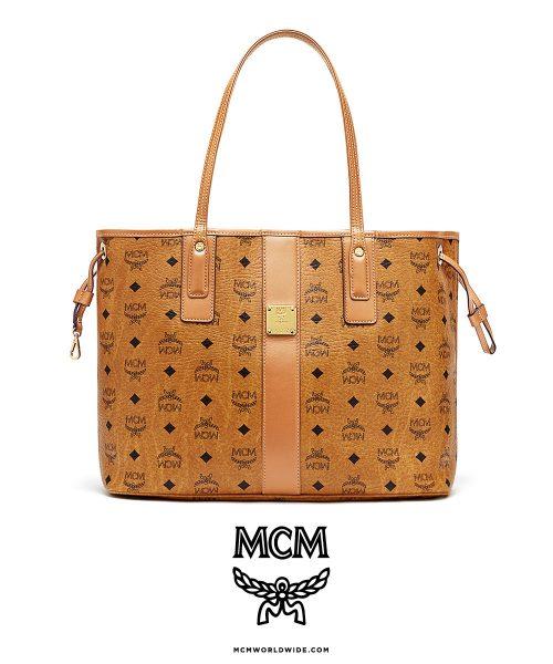 MCM Liz Med Shopper Bag – Cognac
