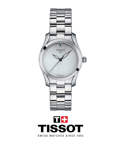 Tissot T-Wave Stainless Steel watch for ladies