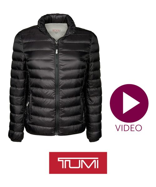 Tumi Pax Ladies' Down Jacket - Black/Small