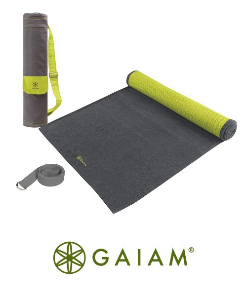 Gaiam Yoga Set - Citron Storm