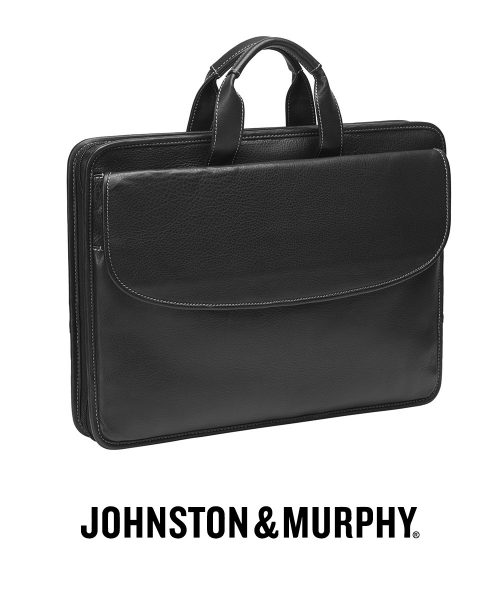Johnston & Murphy Portfolio Briefcase – Black