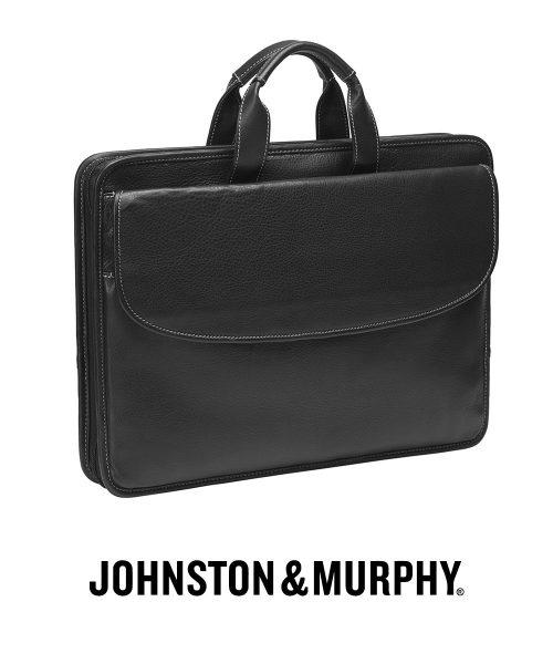 Johnston & Murphy Portfolio Briefcase – Black