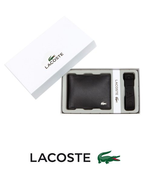 Lacoste Men's Billfold -Black