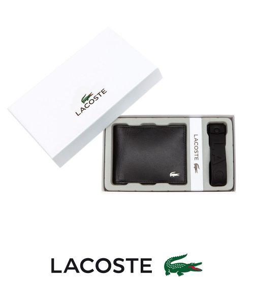 Lacoste Men's Billfold -Black