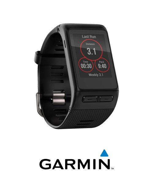 Garmin Vivoactive HR GPS Smartwatch-Reg Fit-Black