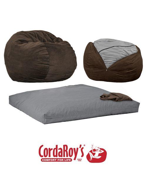 CordaRoy's Convertible Bean Bag Chair -Full/