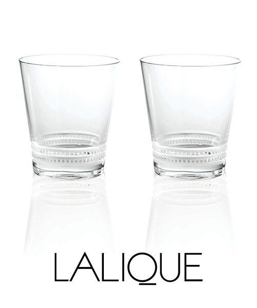 Lalique Facet Tumbler Large (Set of 2)