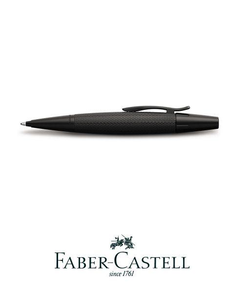 Faber Castell Ballpoint Pen - E-Motion Pure Black