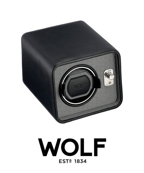 Wolf Windsor Single Winder – Black