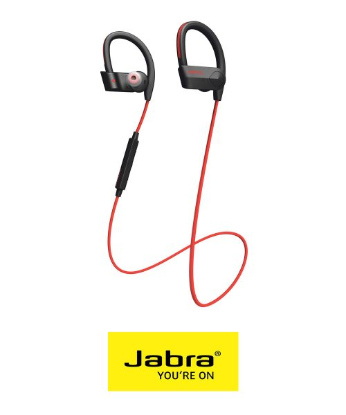 Jabra SPORT PACE Wireless Earbud Headphones-Red