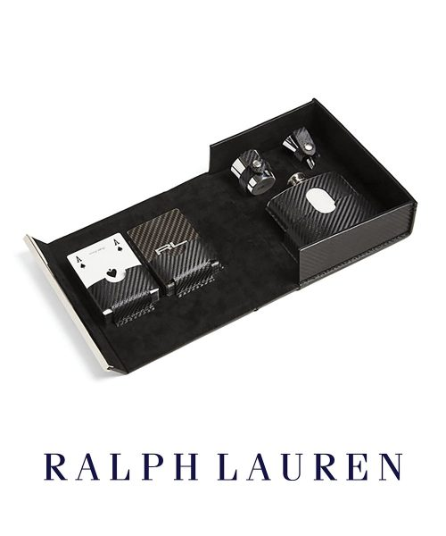 Ralph Lauren Sutton Flask Set