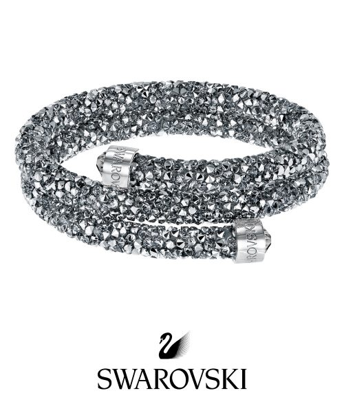 Swarovski Crystaldust Double Bangle