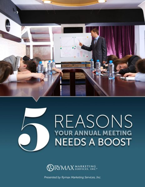 5 Reasons Your Annual Meeting Needs A Boost