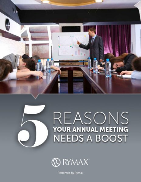 Five Signs Your Annual Meeting Needs A Boost