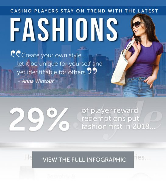 Casino Players Stay On Trend With The Latest Fashions