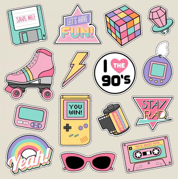 items from the 1990s