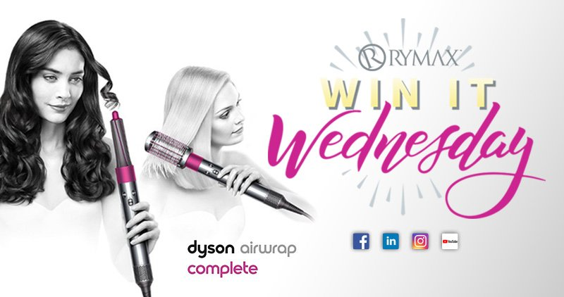 Win It Wednesday- Dyson Air Wrap