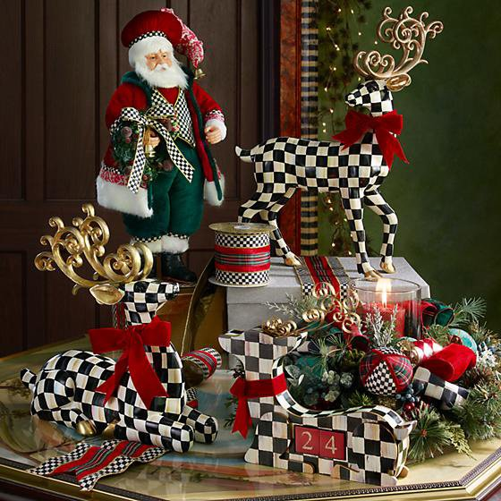 Holiday Collection - Courtly Check Deer Countdown Calendar