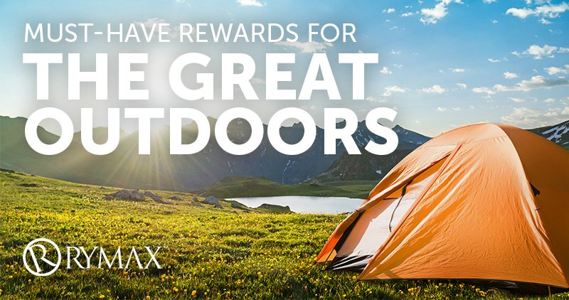Must-Have Rewards for the Great Outdoors