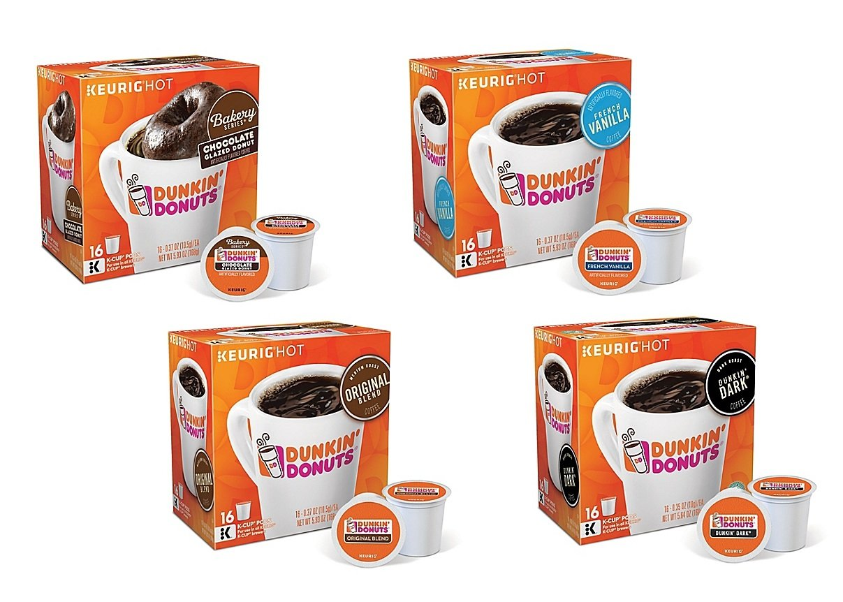 Dunkin\' Donuts 80-Piece K-Cup® Variety Pack - Rymax Marketing Services
